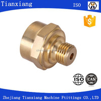 Precision CNC Lathe Machine Parts/Precision brass CNC Machining Metal Turned Part