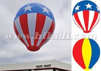 Good price America flag helium balloon, hot air shape helium balloon K7175
