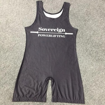 custom sublimated wrestling singlets