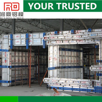 RD alibaba Making the concrete surface smooth Construction Building Panel System Producer sell to Japan for alu formwork