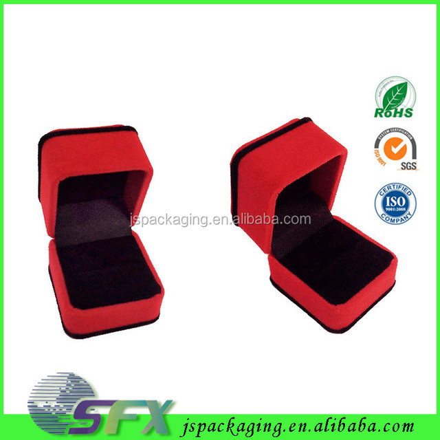 2017 Handmade biodegradable jewelry box for ring necklace bracelet set earring