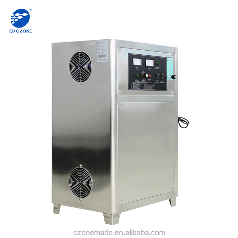 industry ozone generator,sewage water disinfectant chemical o3 generator, ozone generator for water treatment QJ-8001Y
