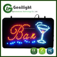 full color led display sign electronic bar window led sign board