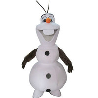 Hot Sale New custom made Frozen costume Frozen Dress Olaf Snowman Mascot Costume for Adult