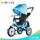 2016 Hot sale Carrier kids 3 wheel tricycle / multifunction children tricycle push / cheap price baby walker trike China