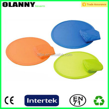 durable portable nylon fan foldable frisbee