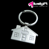 metal key fob/ zinc alloy type house shaped metal key ring