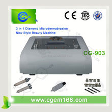 CG-903 Hot sale!!! professional 3 in 1 fda approved microdermabrasion machine for salon use
