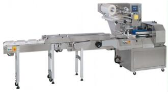 sponge cake horizontal packing machinery CCP-HP320 with high speed made in Taiwan with CE certification