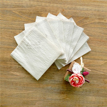Exquisite Flexo Printing Soft Absorbency Facial Bamboo Pulp Napkin