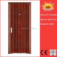 Hot sale lowes wrought iron security doors SC-S006