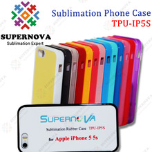 Sublimation Cell Phone Cases for iPhone5S with Aluminum Sheet