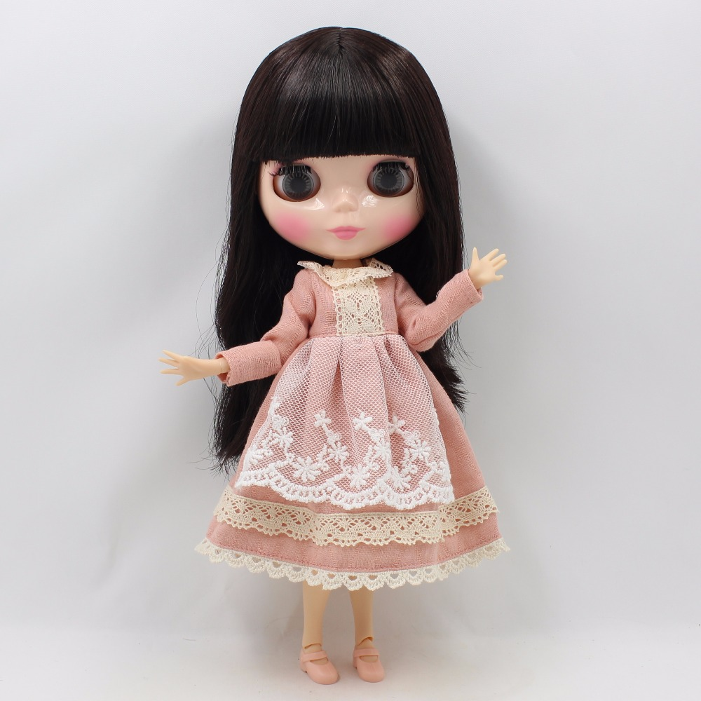 Neo Blythe Doll Lace Dress with Scarf 1