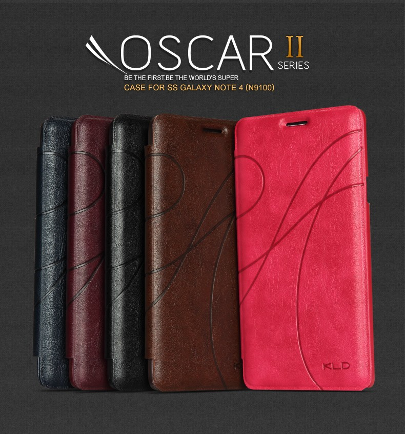 Global hot selling Kalaideng Oscar 2 Series case for Samsung note 4