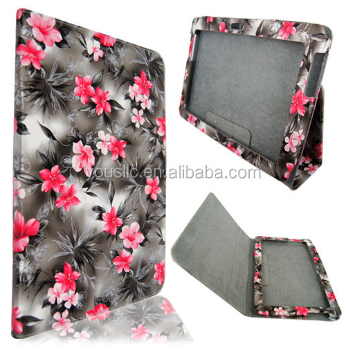 FOR SAMSUNG GALAXY TAB 2 P5100 10.1 STYLISH PU LEATHER FLIP CASE COVER