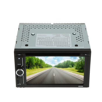 "6.2"" Universal 2 Din HD Car Stereo DVD/USB/SD Player Beautiful UI Multimedia GPS Navigation Bluetooth Radio Entertainment"