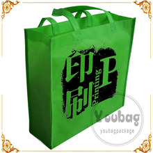 wholesale in dubai fair promotional bags heat transfer printing non woven bag