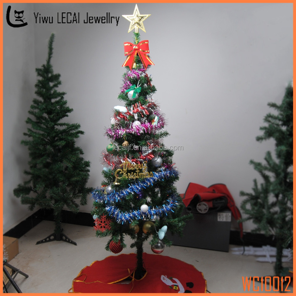 Christmas decorations small christmas tree multicolor for Small christmas decorations