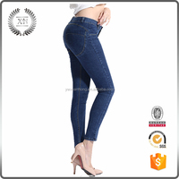 New Custom Fashion ladies long women jeans