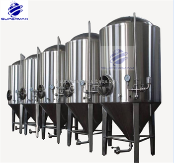500 liter brewery jacketed fermenters/fermenters/brite beer tanks/beer brewing equipment 60bbl (CE certificate)