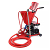 Portable small cement mortar putty spraying plaster machine