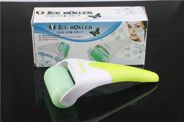 Beauty Salon Use Derma Ice Rolle Massage Roller