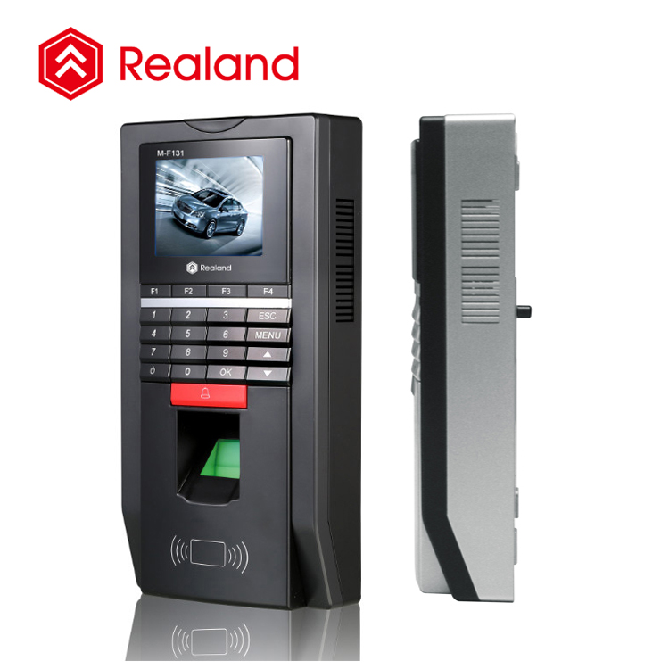 Realand M-F131 biometric time in time out finger print attendance door access control system