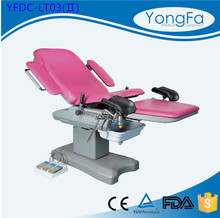 qualified with ISO13485 Safety and Comfortable Adjustable medical examination bed