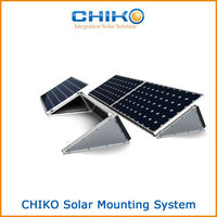 Flat roof aluminum ballast mounting kits, solar ground mounting kits