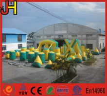 Export Market Top Quality Customized 46 PCS Laser Tag Inflatable Laser Maze For Sale