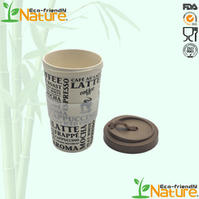 Wholesale 560ml FDA Superior Biodegradarable Safety Bamboo Fiber Travel <strong>Cup</strong>