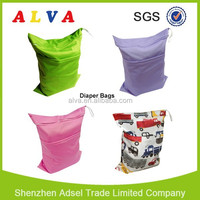 ALVA Reusable Baby Diaper Wet Bag Washable Nappy Bag