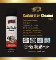 Aeropak Choke Cleaner, Strong Cleaning Ability Carb Cleaner,Carburetor Cleaner