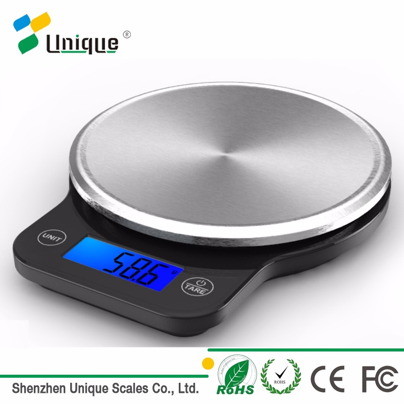 5kg Amazon Hot Sell Mini Platform Precise Weighing Cheap wholesale Digital Kitchen Food Scale