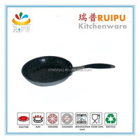 Ecofriendly no oil nonstick skillets stainless steel microwave oven frying pan with induction bottom