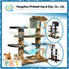 Decorative Large Deluxe Cat Trees with post house/cat furniture/cat toys
