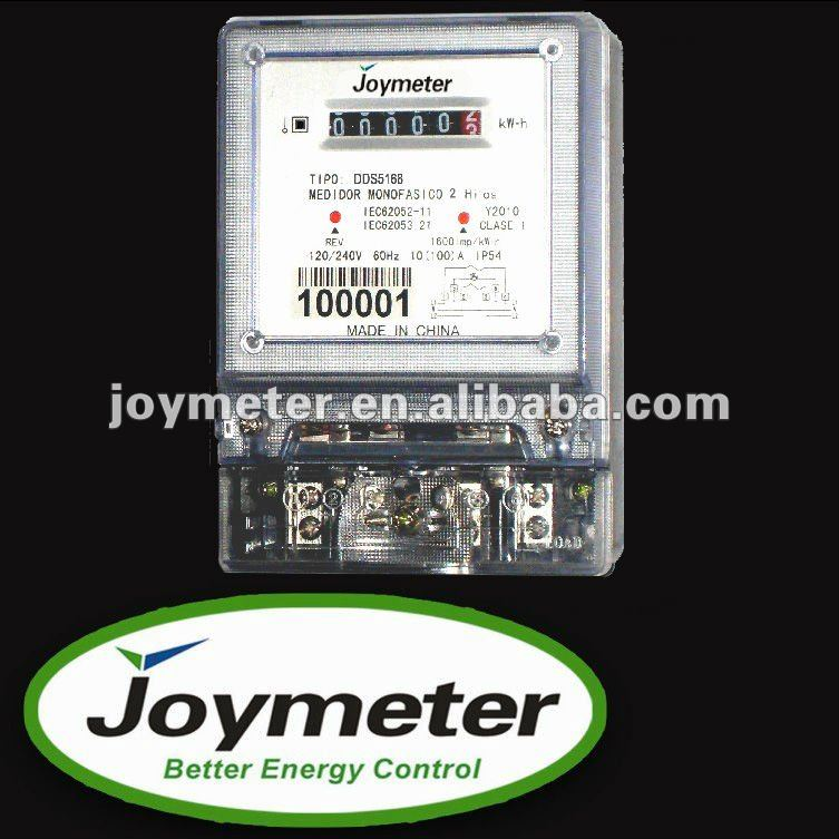 DDS5168 single phase electric/energy resistance meter