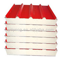 pu sandwich panels for roof and wall