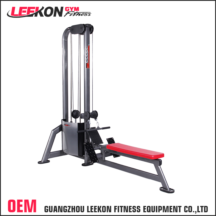 OEM&ODM muscle training seated low pulley gym machine hydraulic fitness home exercise equipment