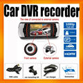 HD Car DVR 1080P Dual Lens Reverse camera Allwinner 9712 G-sensor Motion Detect A1