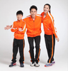 Long Sleeve Blank Sports Wear Tracksuit For Child And Adult