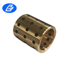 Bronze Bushing with Inserts Graphite