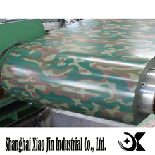 2016 disruptive pattern Prepainted GI steel coil / PPGI / PPGL color coated galvanized steel sheet in coil