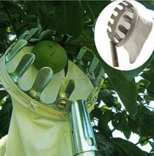 High quality Metal Fruit picker Convenient Horticultural Fruit Picker / Gardening Apple Peach Picking Tools