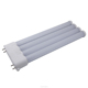 clear/milky cover Isolate driver 10W 2835smd 2g10 LED Lamp Led Linear Light top quality LED 2G10 tube light