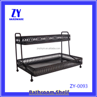 Iron metal wire shelf rack China manufacturer