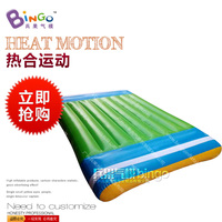 inflatable sealed square fanshaped playground air cushion
