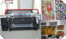 1.8m fabric,polyester textile printing machine