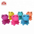 Colorful bath toy realistic frog toy