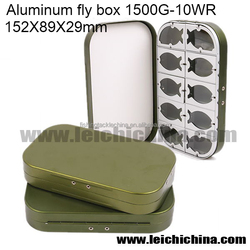 16 comparments 10 WR fly fishing aluminium box aluminum tool boxes